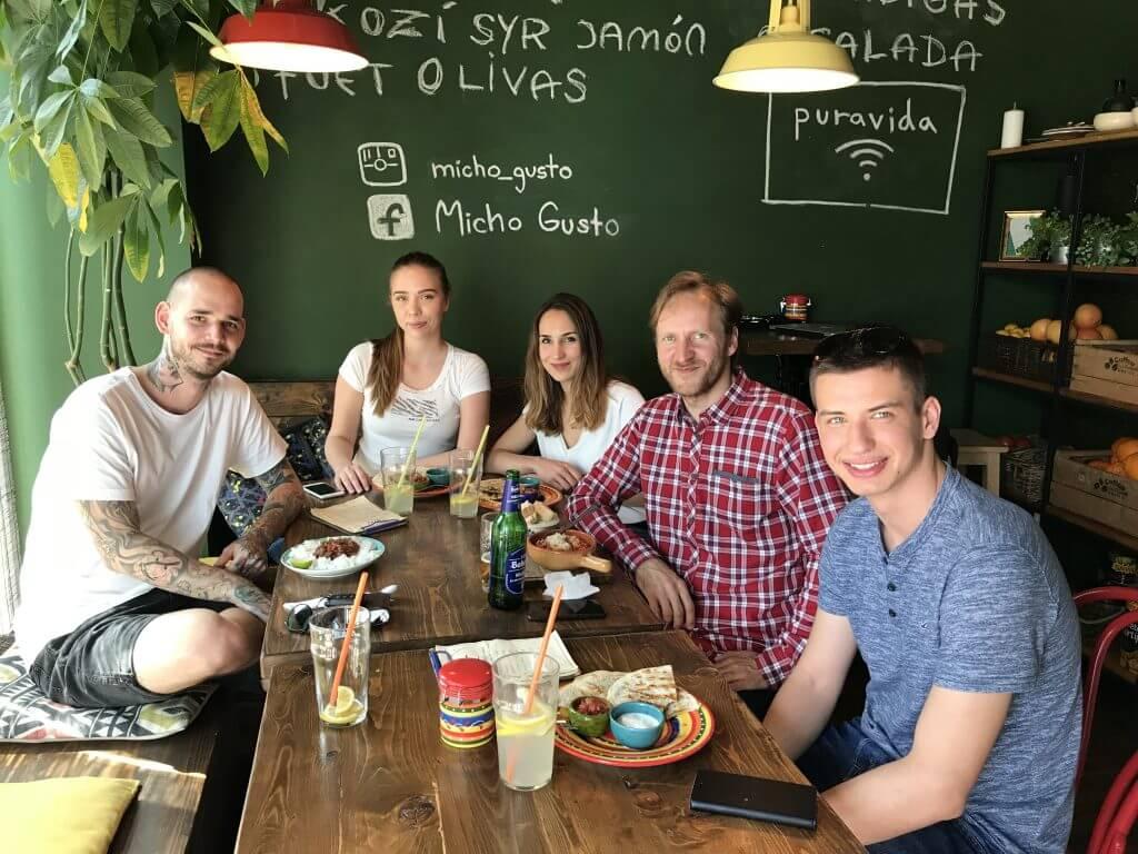 Digitálny obed Kamil Aujeský